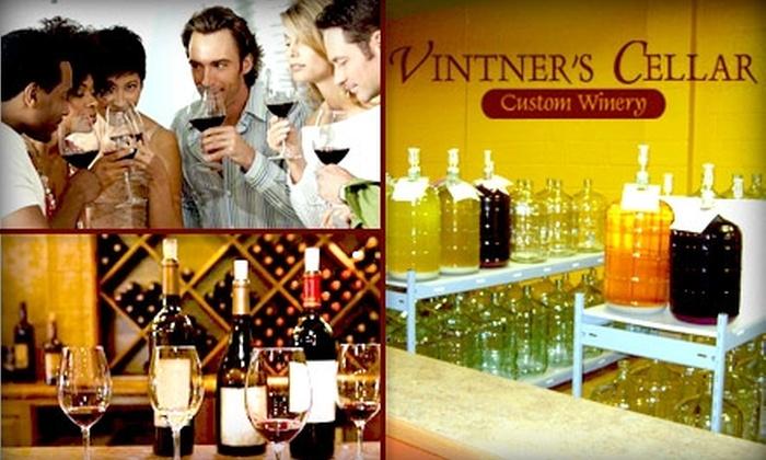 Vintner's Cellar of Royal Oak - Downtown Royal Oak: $15 for a Two-Person Wine Tasting at Vintner's Cellar of Royal Oak ($30 Value)