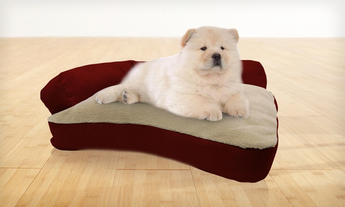 AKC Corner Bolster Pet Bed: $29 for an AKC Corner Bolster Pet Bed ($89.99 List Price). Four Colors Available. Free Shipping and Free Returns.