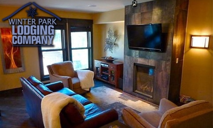 Winter Park Lodging Company - Winter Park: $25 for $150 Worth of Ski-Season Lodging at Winter Park Lodging Company