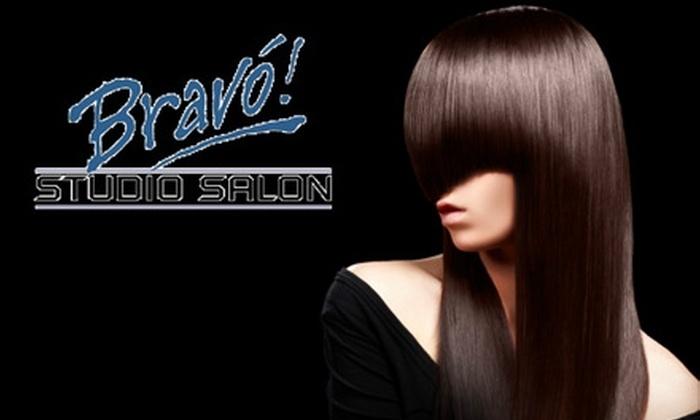Bravo Studio Salon - Gibson Springs: $50 for $100 Worth of Salon Services at Bravo Studio Salon in Henderson