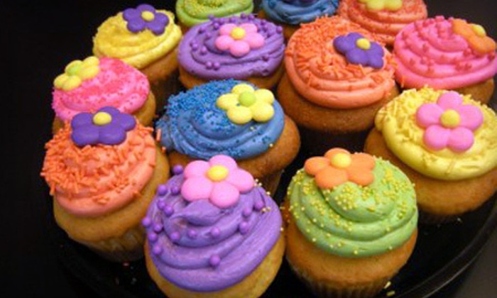 Zillycakes - Forest: Three or Six Large Cupcakes at Zillycakes (Up to 56% Off)