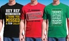 Fall is for Football Men's T-Shirts: Fall is for Football Men's T-Shirts in Regular and Extended Sizes