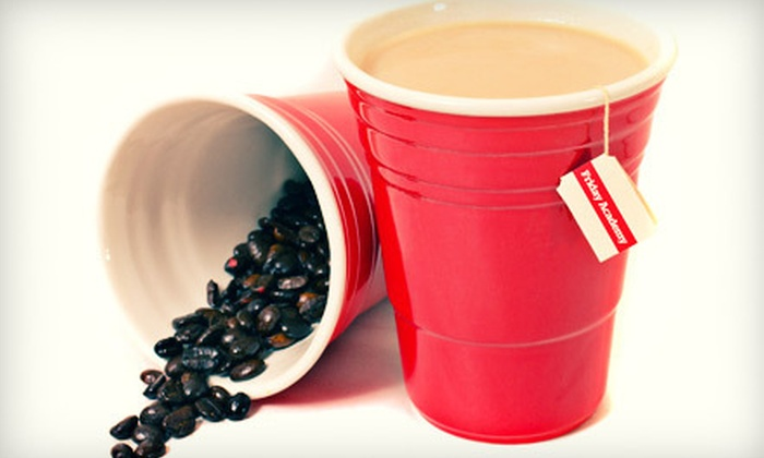 Friday Academy: $29 for Four Solo-Cup-Inspired Ceramic Cups from Friday Academy ($79.95 Value)