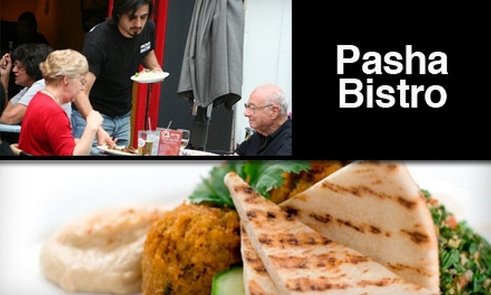 Pasha Bistro - Dupont Circle: $10 for $20 Worth of Healthy, Fast Mediterranean Fare at Pasha Bistro