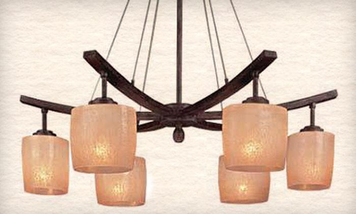 Fan Man Lighting - Burnsville: $25 for $50 Worth of Lighting Fixtures, Ceiling Fans, and Décor at Fan Man Lighting in Burnsville