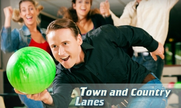Town and Country Lanes - Bethlehem: $8 for Three Games of Bowling and Shoe Rental at Town and Country Lanes