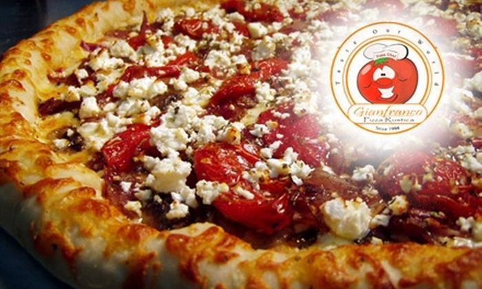 Gianfranco Pizza Rustica - Multiple Locations: $8 for $16 Worth of Pizza, Pasta, Drinks and More at Gianfranco Pizza Rustica