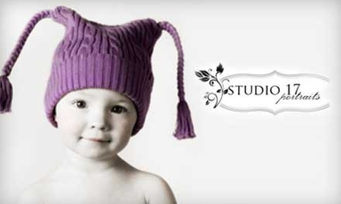 "Studio 17 Portraits - Kenosha: $50 for Children's Hat Photography Session, 8"" x 8"" Print, Digital Prints, and 20% Off Additional Prints at Studio 17 in Kenosha ($150 Value)"