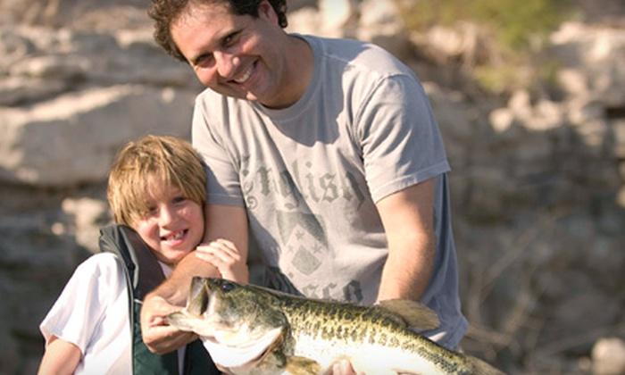 The Hook Up Outfitters and Guide Service, Inc. - Peoria: $75 for a Four-Hour Chartered Fishing Trip from The Hook Up Outfitters and Guide Service, Inc. in Peoria ($150 Value)