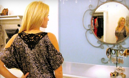 $20 Groupon Towards Clothing, Footwear, and Accessories - Etiquette Boutique in Fort Lauderdale