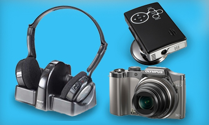 The Sharper Image - Miami: $25 for $50 Worth of Technological Novelties and Gifts from The Sharper Image