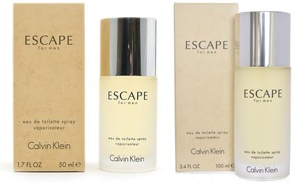 100ml or 50ml of Calvin Klein Escape for Men Eau de Toilette