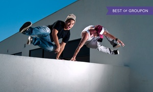 APEX Movement NorCal: Youth Parkour or Adult Ninja Warrior Classes at Apex Movement NorCal  (Up to 80% Off). Three Options Available.