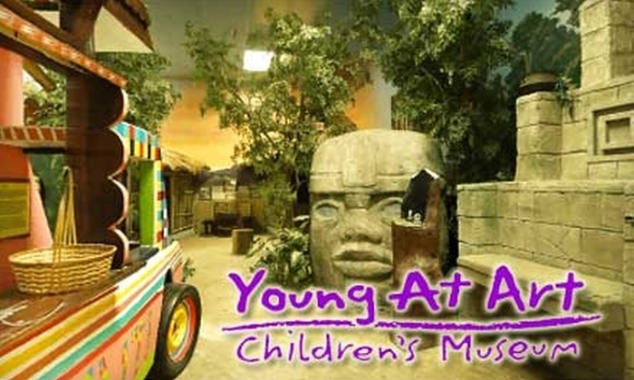 Young At Art Children's Museum - Grolier Village: $8 for Two Admissions to Young at Art Children's Museum (Up to $16 Value)