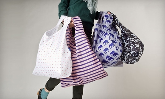 5 For Reuseable Bags From Baggu