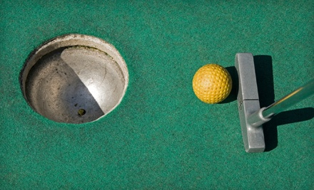 Golf NYC: 2 Rounds of Miniature Golf and 2 Sets of Large Fountain Drinks, Fries, and Burgers or Hot Dogs - Golf NYC in Flushing
