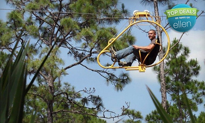 Florida EcoSafaris - South and East Osceola: Coach Safari or Cypress Canopy Cycle Tour for One or Two from Florida EcoSafaris in St. Cloud (Up to 57% Off)