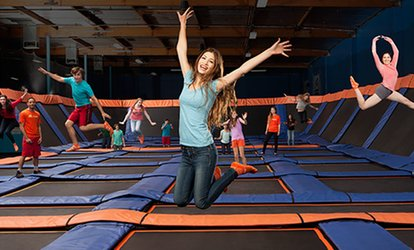 image for Two, Four, or Six Jump Passes or One Super Jump Birthday Party for 10 at Sky Zone Lee's Summit (Up to 44% Off)