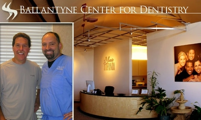 Ballantyne Center for Dentistry - Ballantyne East: $59 for a Dental Cleaning, Exam, and X-Rays from Ballantyne Center for Dentistry ($326 Value)