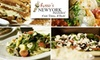 New York Pizzeria Sugar Land - Sugar Land: $10 for $20 Worth of Pizza, Italian Fare, and More at Russo's New York Pizzeria in Sugar Land