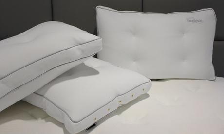 1, 2 o 4 almohadas de algodón natural Biotex