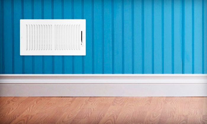 Kip's Carpet Cleaning - Prairie Village: $65 for Air-Duct Cleaning for Up to Seven Vents from Kip's Carpet Cleaning (Up to $199 Value)
