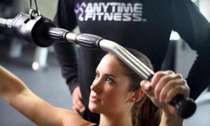 Anytime Fitness - Multiple Locations: $20 for a Workout Package with Two-Month Membership and Two Personal-Training Sessions at Anytime Fitness ($315.90 Value)