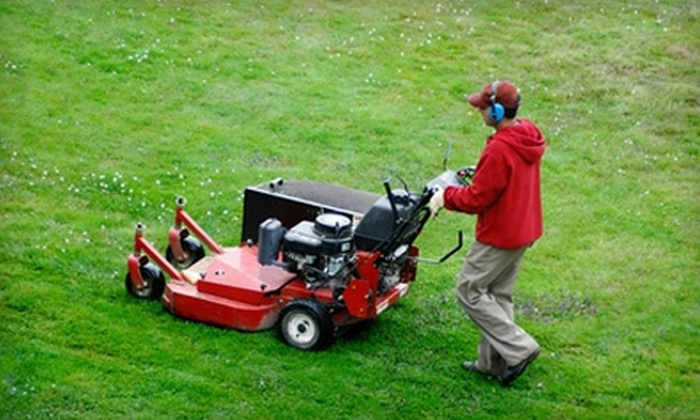 Murray's Mowing - Dayton: $20 for Lawn Mowing, Deluxe Trim Work, and Grass Cleanup for Up to a 1/2-Acre Lawn from Murray's Mowing ($40 Value)