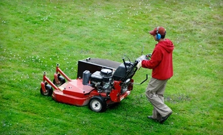 $40 Groupon to Murray's Mowing for Residential Lawn Mowing, Deluxe Trim Work and Grass Clean-up - Murray's Mowing in