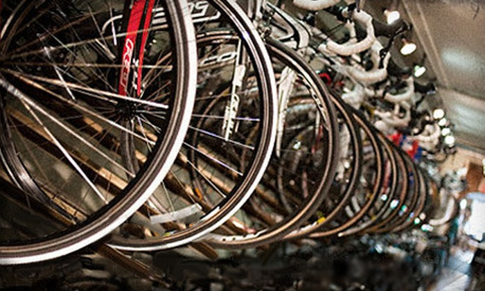 Breakaway Bikes - Center City West: Bicycle Services or Accessories at Breakaway Bikes (Half Off). Two Options Available.