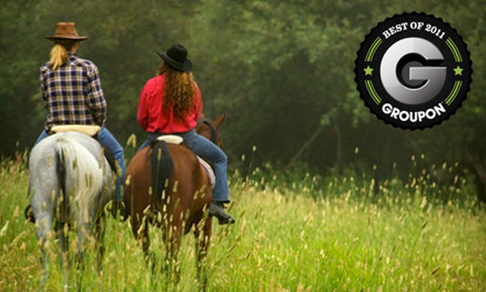 Stono River Riding Academy - Johns Island: One-Hour Horseback Trail Ride for Two or Four at Stono River Riding Academy on Johns Island (Up to 57% Off)