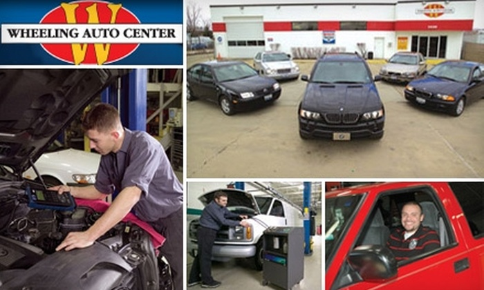 Wheeling Auto Center - Wheeling: $49 for a Fall Service Maintenance Package at Wheeling Auto Center (Up to $134.90 Value)