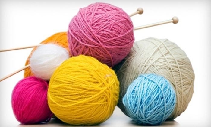 Craft Happy - Summerville: $20 for a Sewing, Knitting, or Crochet 101 Class at Craft Happy in Summerville (Up to $46 Value)
