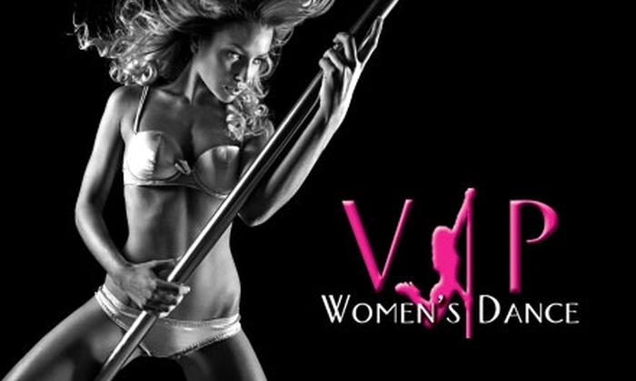 VIP Women's Dance - Jacksonville Beach: $59 for One Month of Classes ($119 Value) or $10 for One Drop-in Pole Fitness Class ($20 Value) at VIP Women's Dance