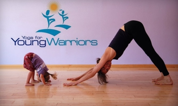 Yoga for Young Warriors - Jefferson Park: $40 for 10 Yoga Classes for Kids and Adults at Yoga for Young Warriors ($90 Value)