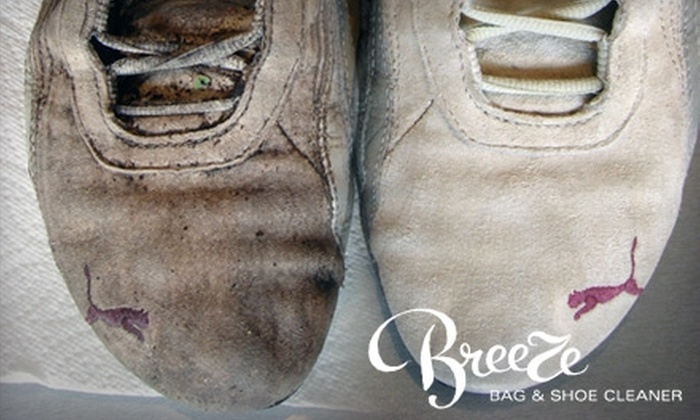 Breeze Bag & Shoe Cleaner - Multiple Locations: $6 for $15 Worth of Handbag or Shoe Cleaning at Breeze Bag & Shoe Cleaner