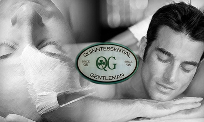 Quinntessential Gentleman - Downtown: $25 for $50 Worth of Massage, Facial, or Waxing Services at Quinntessential Gentleman