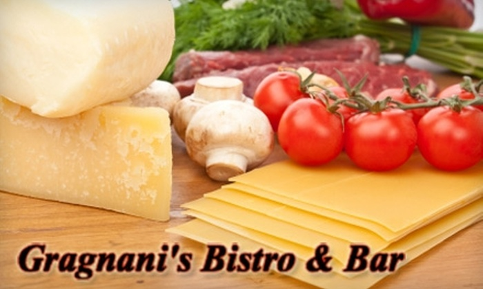 Gragnani's Bistro & Bar - Saint Peters: $7 for $15 Worth of Breakfast or Lunch (or $10 for $20 Worth of Dinner ) at Gragnani's Bistro & Bar in St. Peters