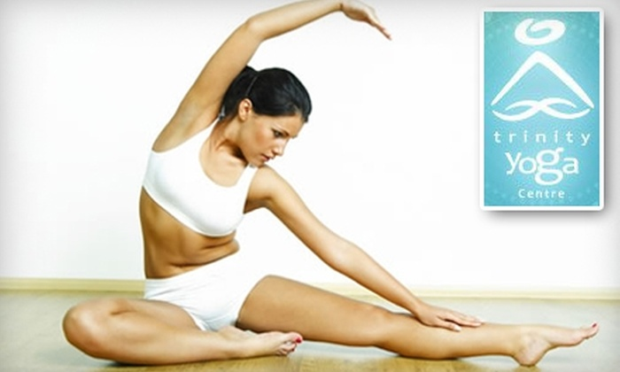 Trinity Yoga Centre - Multiple Locations: $25 for a Five-Class Punch Card at Trinity Yoga Centre ($61.60 Value)