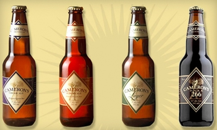 Cameron's Brewing Company - Clarkson: $5 for Two Tickets to a Brewery Tour and Beer Tasting at Cameron's Brewing Company in Oakville ($10 Value)