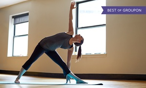 Bikram Yoga Vancouver: 10 Hot Yoga Classes or One Month of Unlimited Classes at Bikram Yoga Vancouver (Up to 81% Off)