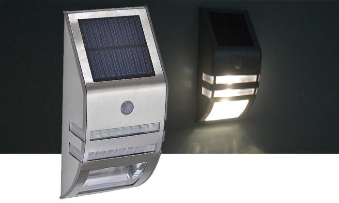 Solar buitenverlichting met sensor archidev