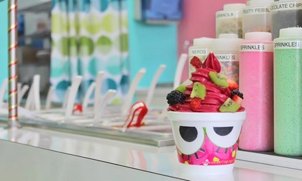 Frozen Yogurt at Sweet Frog Premium Frozen Yogurt (45% Off). Two Options Available.
