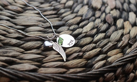 $19 for a Hand-Stamped Remembrance Necklace from Love Stamped ($40 Value)