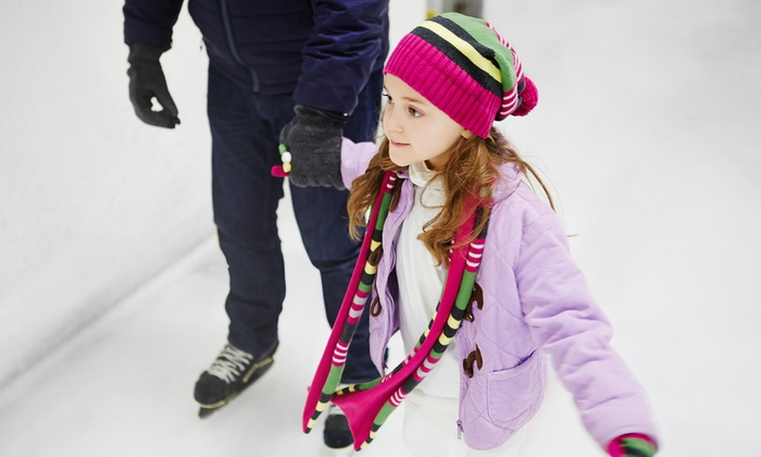 Seven Bridges Ice Arena - Woodridge: Ice-Skating Admission and Skate Rental for Two or Four at Seven Bridges Ice Arena (Up to 52% Off)