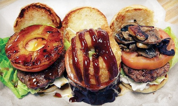Woody's Burgers and Beer - Miramar: Two Groupons, Each Good for $10 Worth of Burgers, Sandwiches, and Malts at Woody's Burgers and Beer ($20 Value)