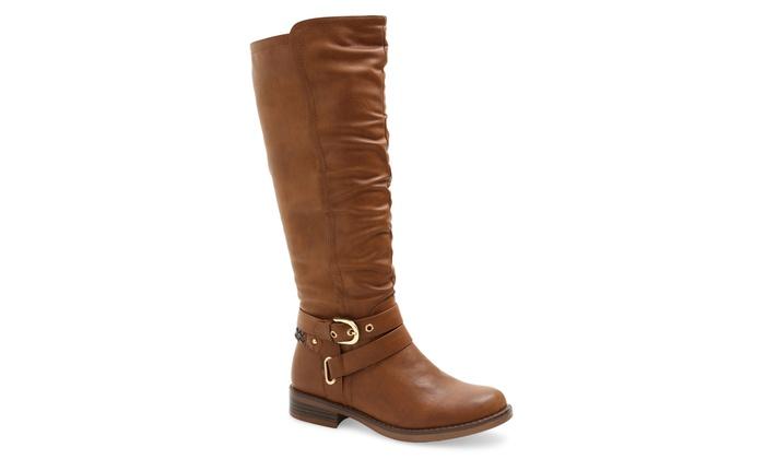 XOXO Knee High Riding Boots