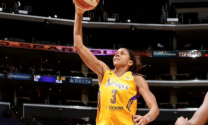 Los Angeles Sparks - STAPLES Center: LA Sparks Basketball Game at Staples Center on July 2, 3, or 5 (Up to 75% Off). Three Seating Options.
