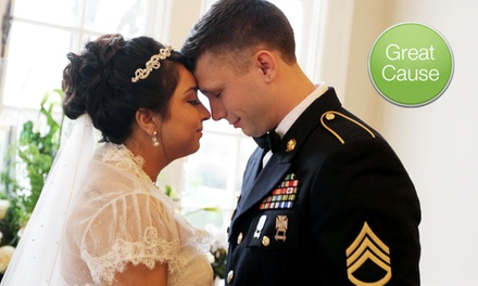 $10 Donation for Gowns for Military Brides