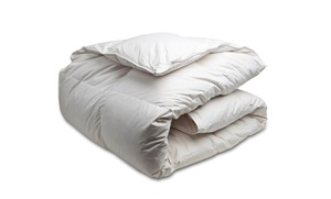Canadian Down and Feather Company White Goose Feather Duvet  at Canadian Down and Feather Company White Goose Feather Duvet , plus 6.0% Cash Back from Ebates.
